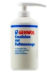 Питательная эмульсия для массажа Геволь/Emulsion Footmassage Gehwol 500 ml