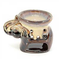Аромалампа Слон кофе с молоком 9х11,5х8 см