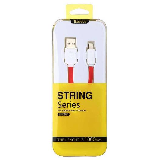 Кабель Baseus String Lightning 1M