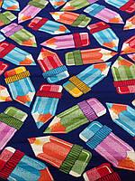 Детский ковер Цветные карандаши