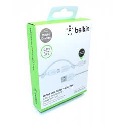 "Data Cable Belkin ""2in1"" Micro + iPhone 5/5s USB (в коробке)"