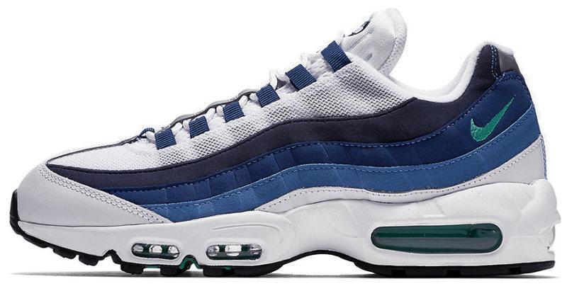 52a83ded01 ... Мужские кроссовки Nike Air Max 95 OG Slate Blue White -  Интернет-магазин обуви . ...