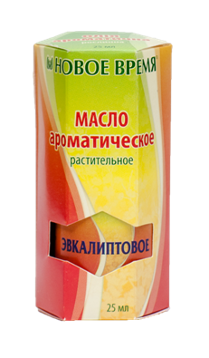 """Ароматическое масло """"Эвкалиптовое"""" Новое время, 25 мл"""
