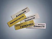 Бейдж Image Lite золото/серебро, 70х20 мм