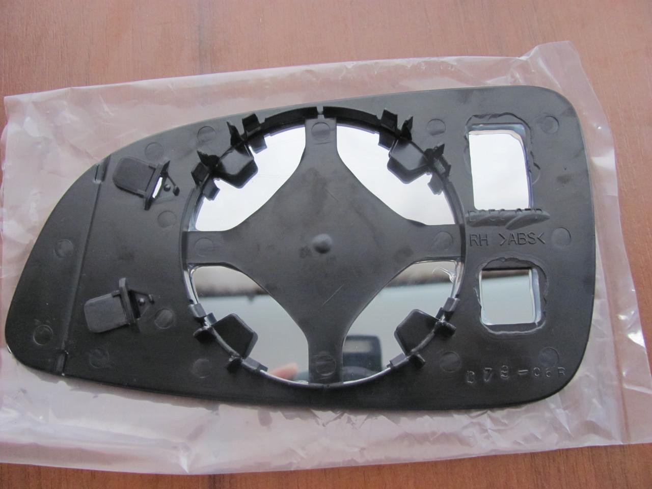 Вкладиш зеркала  Opel Astra H/опель астра аш права випукла