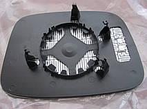Вкладиш зеркала VW Caddi T5 /фольцваген кадді 3 , т5 праве підігрів