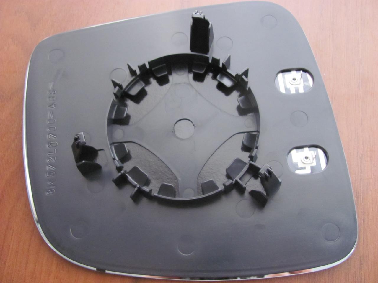 Вкладиш зеркала  VW(фольцваген) Caddi3,кадді3: T5,т5 ліве підігрів