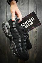 """Мужские кроссовки Nike Air Max 95 """"Cool Black"""", Найк Аир Макс 95, фото 3"""