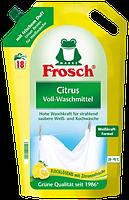 Гель-бальзам (БИО)  для стирки белого белья «Цитрус» Frosch 1,8L, 18 ст. Германия