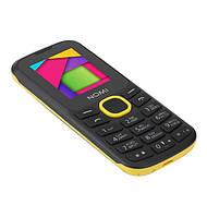 Мобильный телефон Nomi i184 Yellow на 2 сим-карты