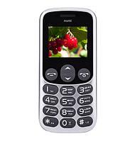 Мобильный телефон Nomi i177 Grey на 2 сим-карты