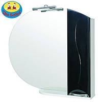 Зеркало Премиум 95 см. с Подсветкой и Пеналом Справа