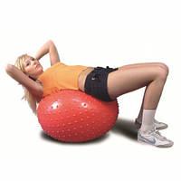 Гимнастический мяч (фитбол) с массажной поверхностью — 65см Ортосила L 0565B