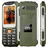 Мобильный телефон VKWorld Stone V3S Green на 2 сим-карты