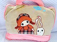 Оригинальный плед-сумка на пляж