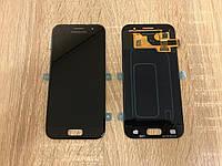 Дисплей на Samsung A320 Galaxy A3(2017) Чёрный(Black),GH97-19732A, Super AMOLED