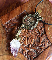 Зодиакальный амулет Рыбы                                     Кулон с цитрином
