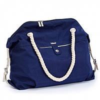 Пляжная сумка Dolly 090 летняя женская текстильная на канатах , фото 1