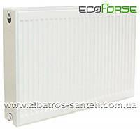 Радиатор стальной панельный EcoForse, тип 22, 500х1500 мм (3025 Вт)