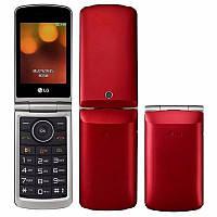 "Телефон-раскладушка LG G360 Red красный (2SIM) 3"" 20 МБ+SD 1,3 Мп оригинал Гарантия!"