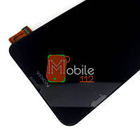 Модуль для Nokia 630 Lumia/ 635/ 636/ 638 (RM-974) Дисплей + тачскрин, чёрный, с передней панелью, оригинал