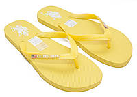 Вьетнамки US POLO желтые