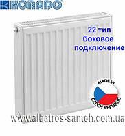 Радиатор стальной KORADO, боковое подключение 22 тип 500х2000 (3656 Вт)