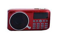 Портативная колонка FM радио MP3 USB UKC U-11 c аккумулятором 18650 и LED фонариком JF11, фото 1