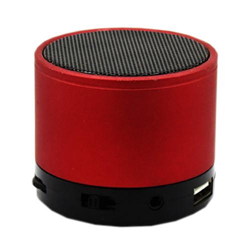 Портативная bluetooth колонка HLD-600 MP3 плеер S-10U Red