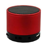 Портативная bluetooth колонка HLD-600 MP3 плеер S-10U Red, фото 1