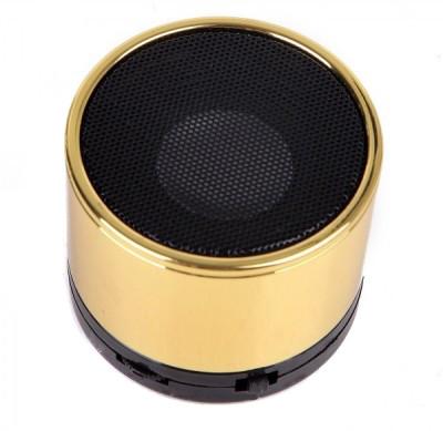 Портативная bluetooth колонка HLD-600 MP3 плеер S-10U Gold