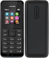 Мобильный телефон Nokia 105 Black DUOS на 2 сим-карты