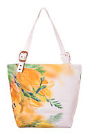 Яркая сумка для девушки Жёлтые цветы