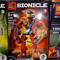 Детский конструктор бионикл 81893