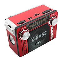 Радиоприемник колонка MP3 USB HS-1062URT Red, фото 1