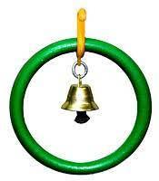 Кольцо с колокольчиком (ЧП003) Лори