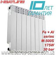 Радиатор биметалл M500ES/80 HEAT LINE 30 bar
