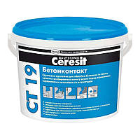 CТ 19 Ceresit, грунтовка бетоноконтакт, 7,5 кг