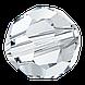 Круглые хрустальные бусины Preciosa (Чехия) 3 мм Crystal, фото 3