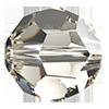 Хрустальные бусины Crystal с покрытием Preciosa (Чехия)  8 мм, Crystal Argent Flare