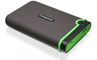 Внешний жесткий диск 500Gb Transcend StoreJet 25M3, Black/Green, 2.5', USB 3.0 (TS500GSJ25M3)
