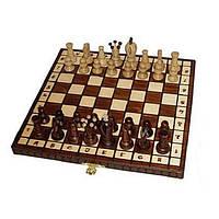 Шахматы Wegiel Royal-30 высота короля 65 мм (2019) Коричневые