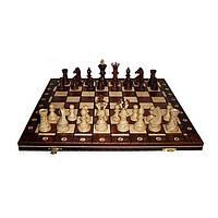 Шахматы Wegiel Ambasador высота короля 110 мм (2000) Коричневые