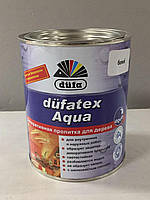 Аква лазурь пропитка для дерева Duffa (Белый) 0,75 л