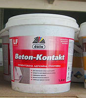 Грунт адгезионный Beton - Kontakt Dufa  1,4 кг (шт)