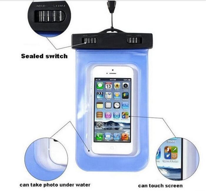 Чехол для телефона водонепроницаемый 10,5*18см R17794