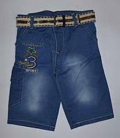 Шорты джинсовые капри на мальчика 3, 4,  7 лет, Турция