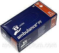 """Перчатки медицинские """"Ambulance"""",размер XL, не стерильные, диагностические, смотровые, латексные перчатки, фото 1"""