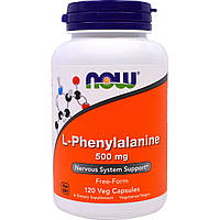 NOW Foods L-Phenylalanine 500mg 120 caps