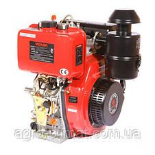 Двигатель дизельный Weima WM188FВЕS (1800 об/мин, шпонка, дизель 12 л.с. эл.старт, редуктор), фото 3